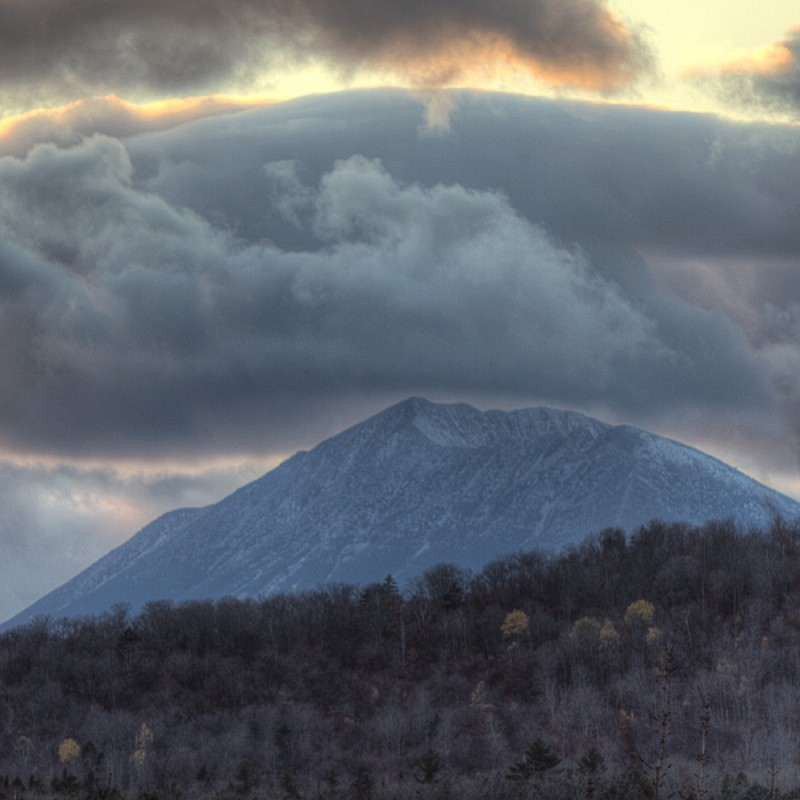 Katahdin from Lunksoos Mountain (Credit: Bill Duffy)