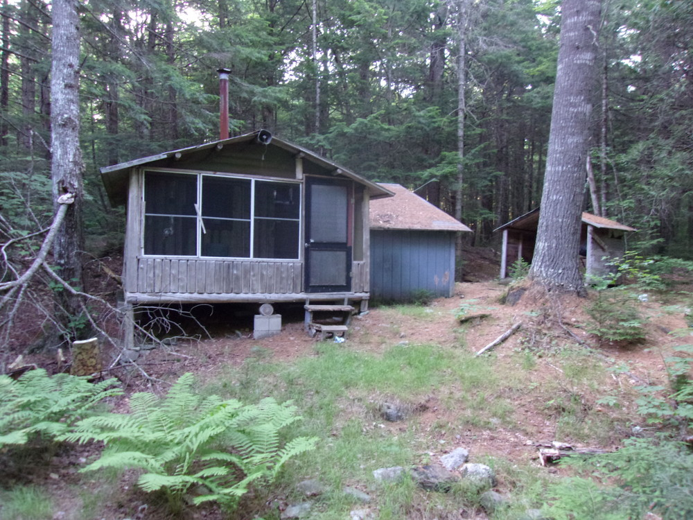 Locked Cabin at Indian Stream Day Use Area (Credit: Sam Shirley)