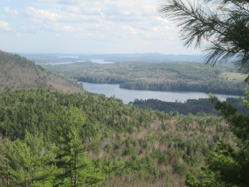 Bear Lake and Long Lake, April 2017 (Credit: Roger Brown)