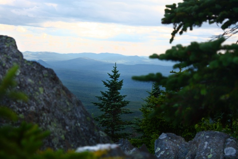 Mount Blue is named for the Spruce that blanket its Granite Slopes (Credit: Ross Donihue)