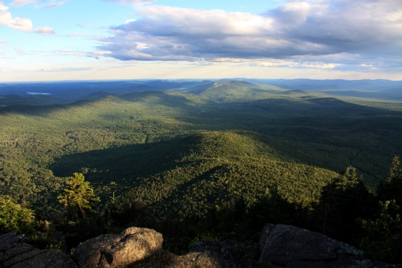 Mexico Hills in the far distance from the summit of Mount Blue (Credit: Ross Donihue)