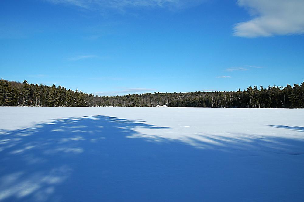 Jamies Pond in Winter (Credit: Kennebec LT)