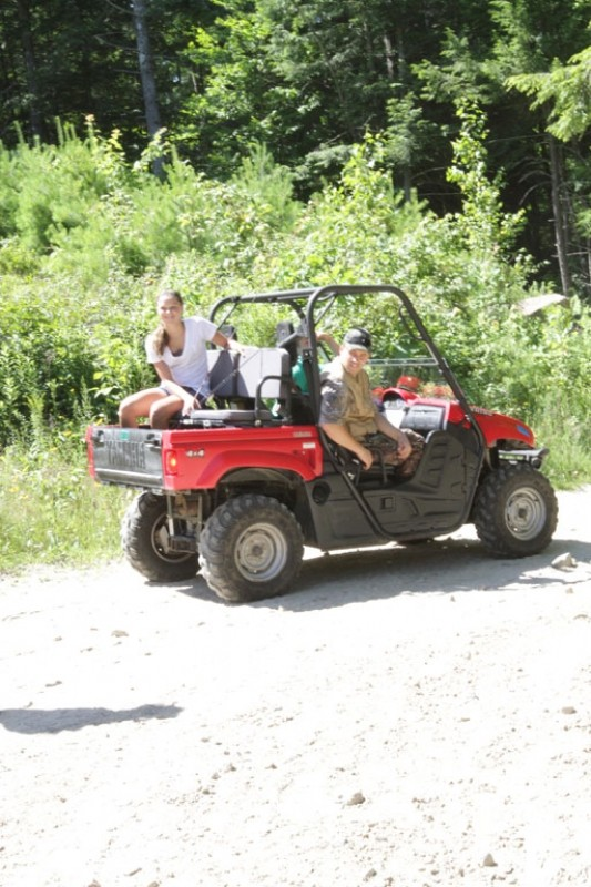 ATV use allowed May 15-Dec 15 on marked trails only (Credit: Hancock Lumber)