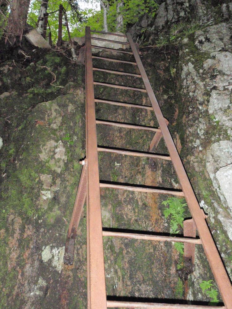 Iron Ladder (Credit: National Park Service)