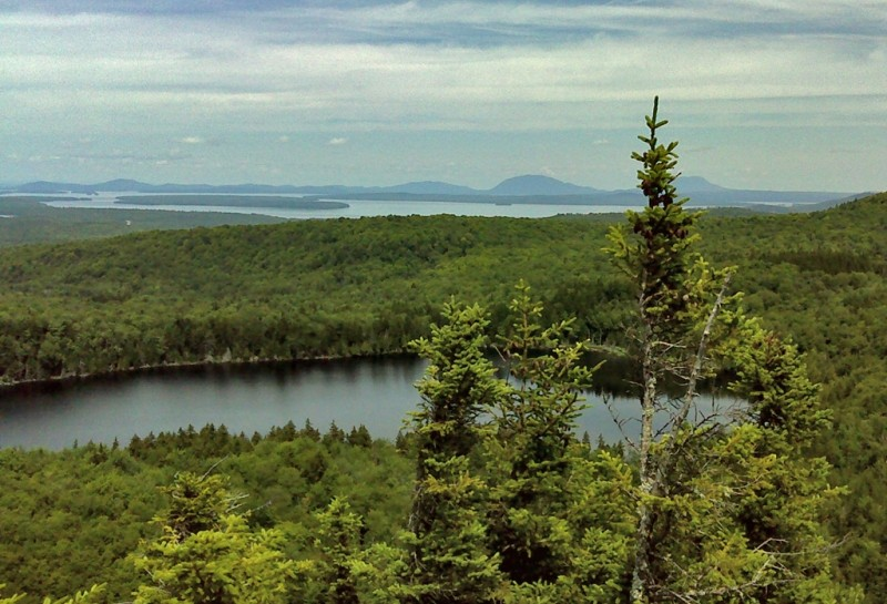 View from Loop Trail (Credit: Maine Bureau of Parks and Lands)