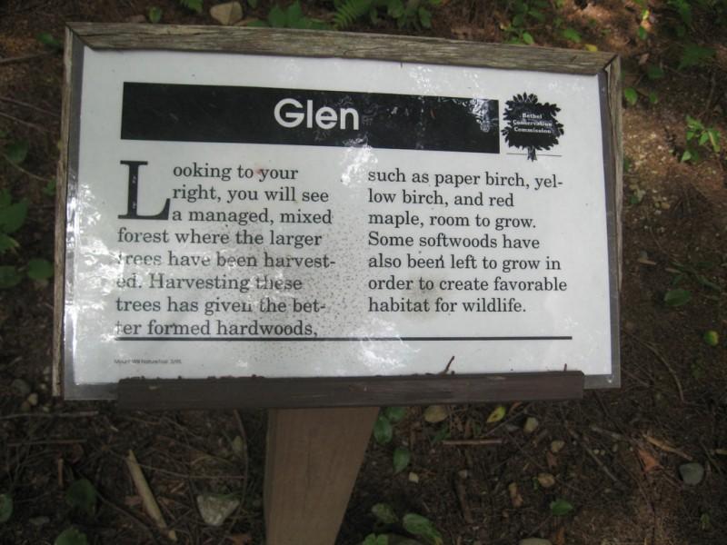 Trail Signage (Credit: Landon Fake)