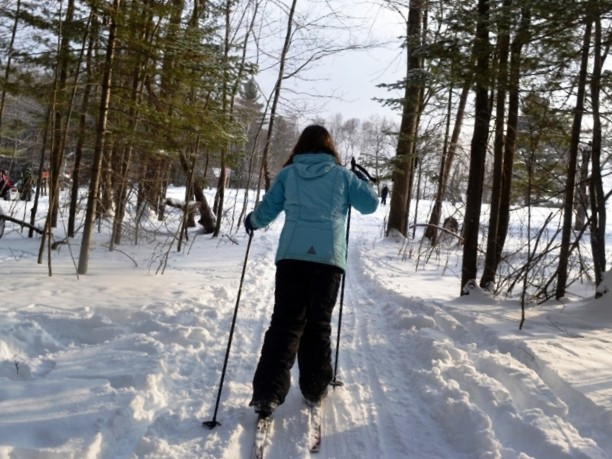 Skiing the Trails (Credit: Stephen Engle)