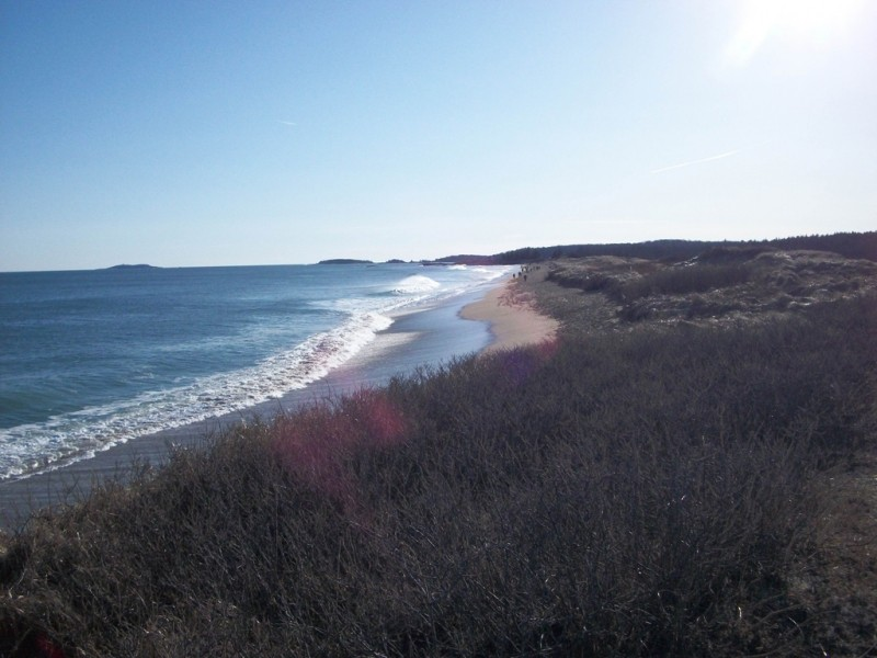 The well-known beaches of Reid State Park (Credit: Maine Bureau of Parks and Lands)