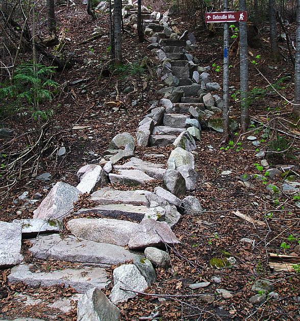 Deboullie Mountain Trail (Credit: Maine Bureau of Parks and Lands)