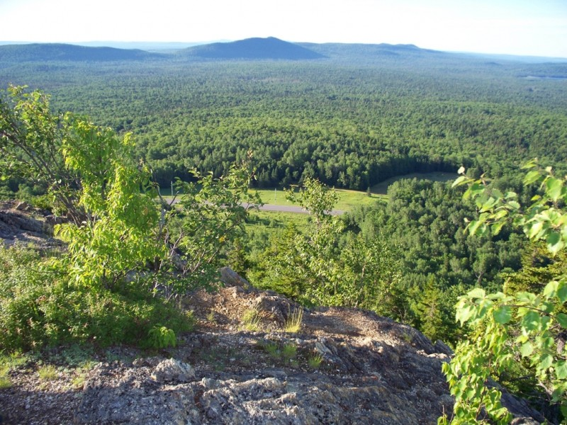 Views from the top (Credit: Maine Division of Parks and Public Lands)