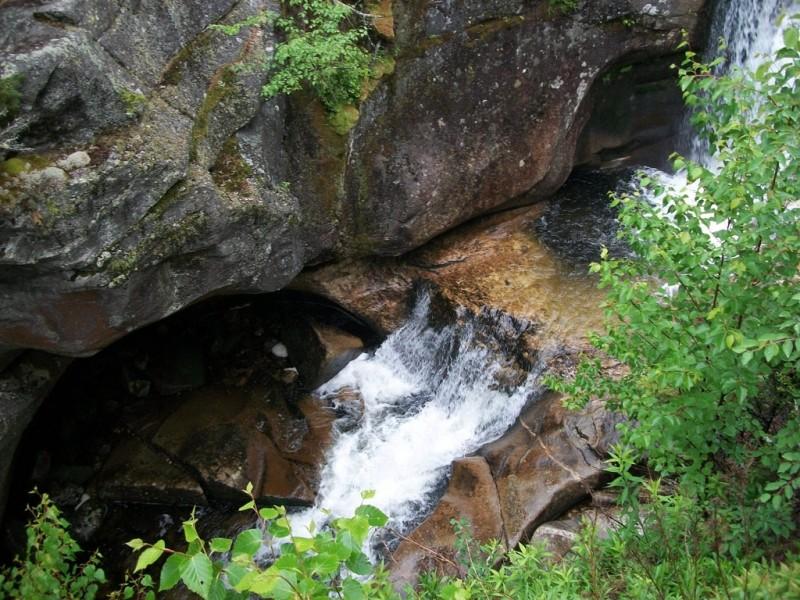 Screw Auger Falls (Credit: Maine Bureau of Parks and Lands)