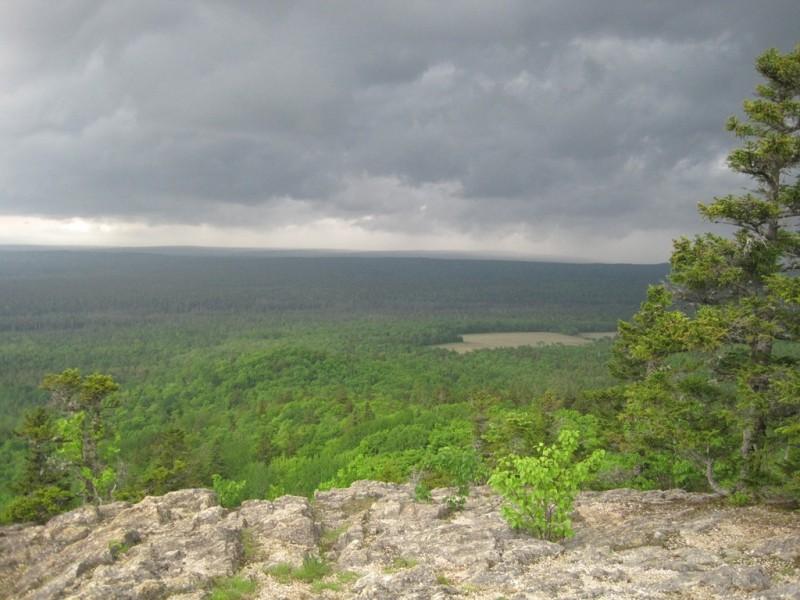 Looking north from Haystack (Credit: Bill Geller)