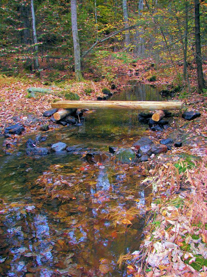New Bridge (Credit: Windham Land Trust)