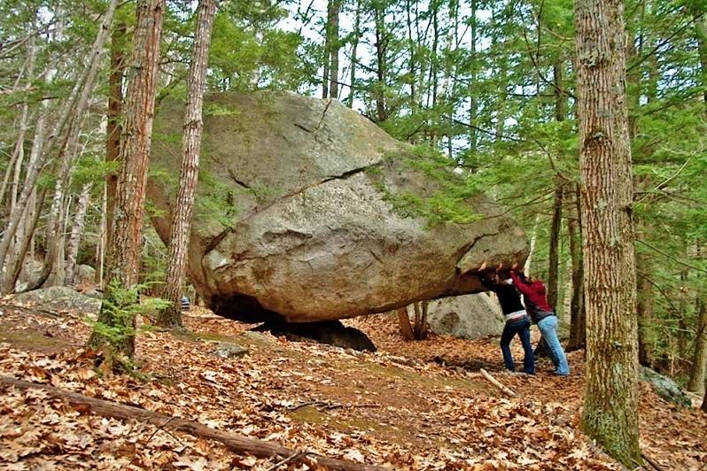 Balancing Rock (Credit: Great Works Regional Land Trust)
