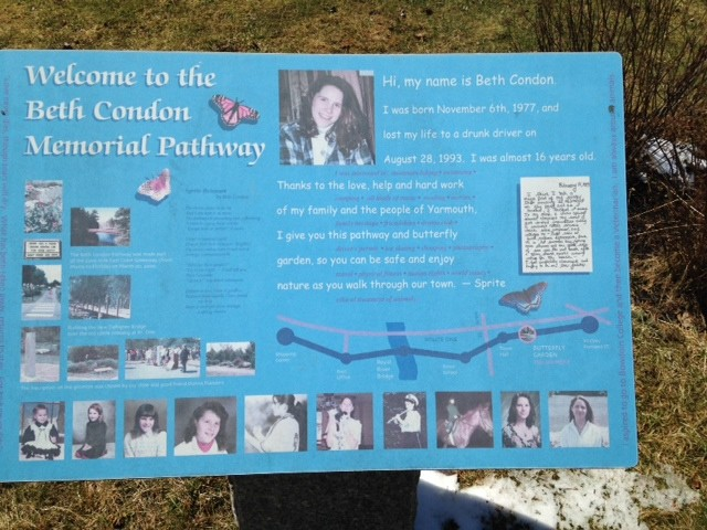 Beth Condon Memorial Pathway (Credit: Royal River Conservation Trust)