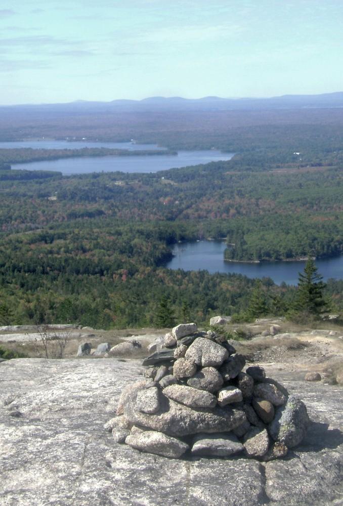 Schoodic Cairn (Credit: Maine Bureau of Parks and Lands)