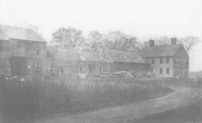 Sears Island Farmhouse in 1914 (Credit: Friends of Sears Island)