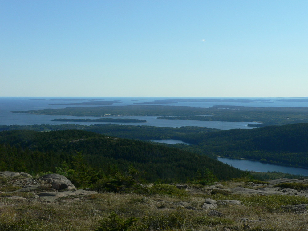 Southwest view from Sargent Mountain (Credit: National Park Service)