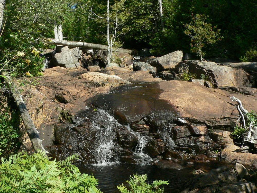 Stream into Lower Hadlock Pond (Credit: National Park Service)