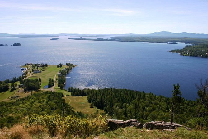 Moosehead Lake from Mount Kineo (Credit: Maine Bureau of Parks and Lands)