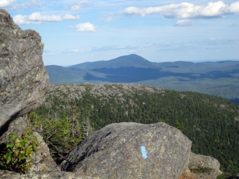 Looking west and south to Mt. Blue (Credit: Lorri Brown)