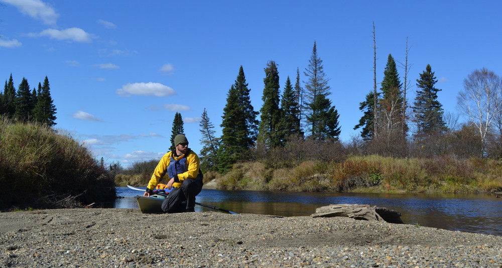 Holeb Stream and Moose River confluence (Credit: ME BPL)