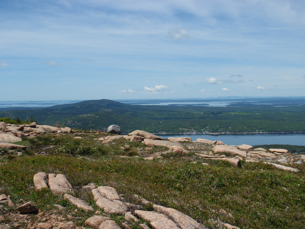 View from Sargent Mountain (Credit: National Park Service)