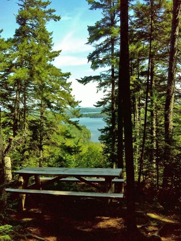 Vista near trailhead (Credit: Maine Bureau of Parks and Lands)