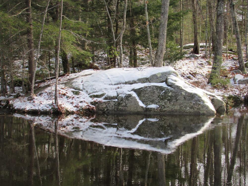 snow ledge (Credit: gary janson)