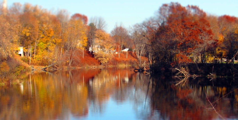 Still some color on the river in November (Credit: gary janson)