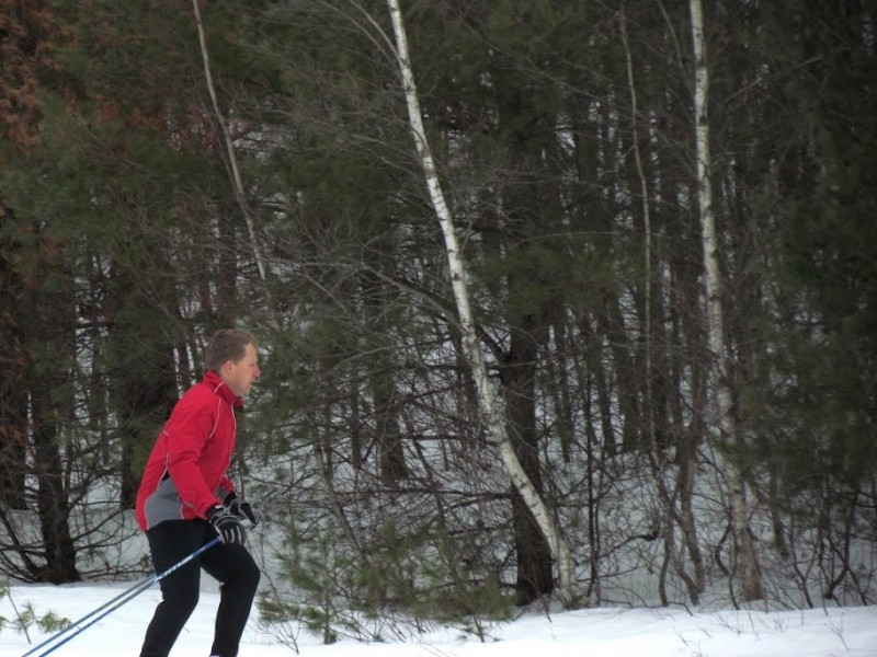 Winter fun on the trails (Credit: Friends of Libby Hill)