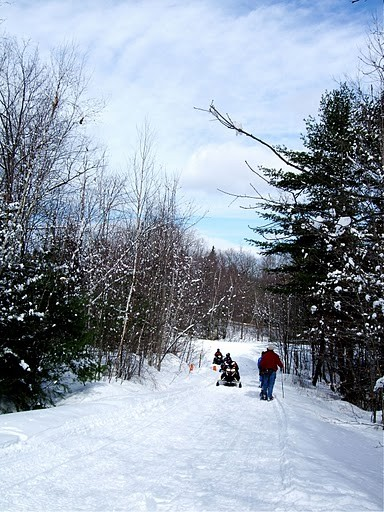 Old River Road Trail which is a multi-use trail (Credit: Maine Bureau of Parks and Lands)