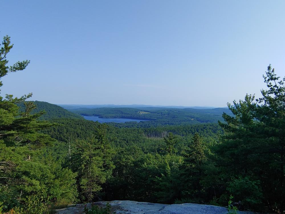 Top of Mt. Tire'm (Credit: Amber Philbrook)