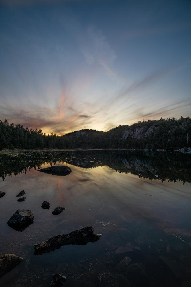 Horns Pond at Sunset (Credit: Waylon Wolfe)