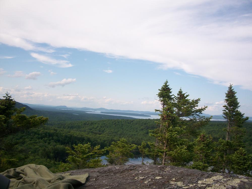 Little Moose Mountain Scenic View (Credit: AJ Finn)