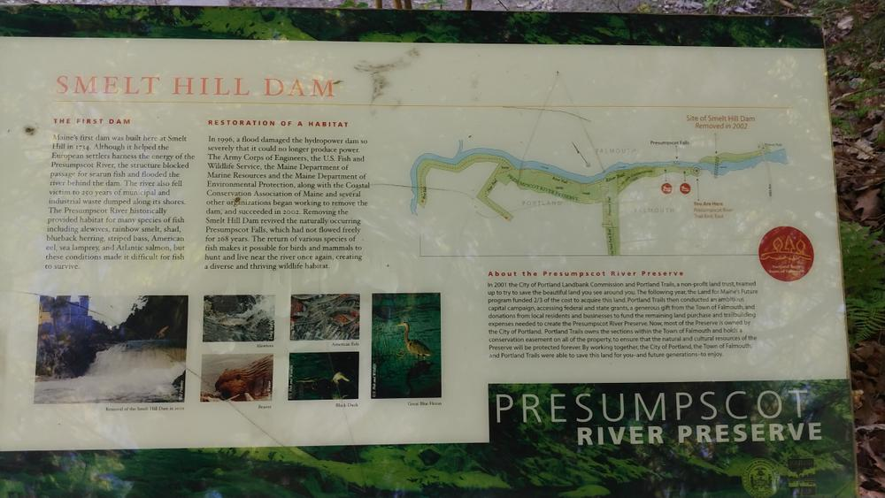 Presumpscot River Preserve and Oat Nuts Park