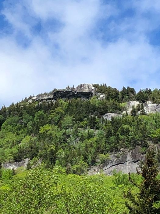 View of Tablerock from Moose Cave