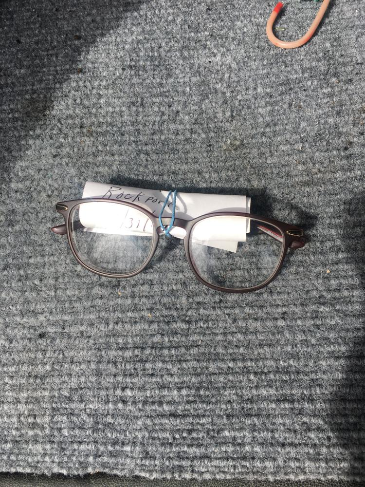 Glasses found, lower trail 3/31/21