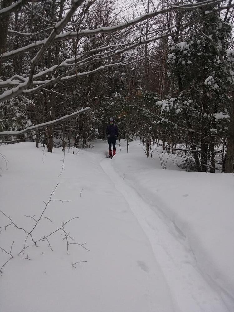 Snowshoeing the Lapham Loop 2/24/19 (Credit: Gone Hiking)