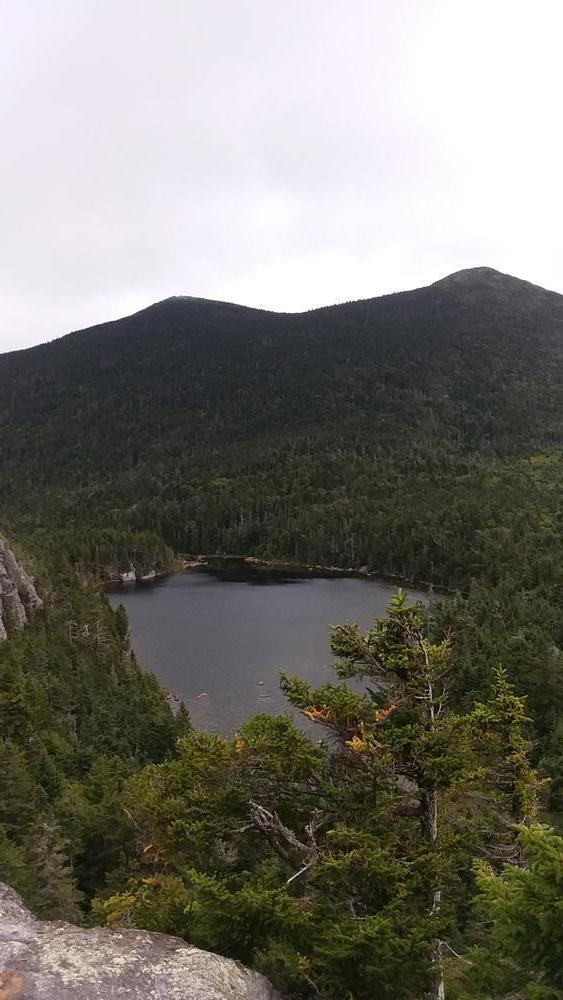 North Horn (left) South Horn and Horn's Pond