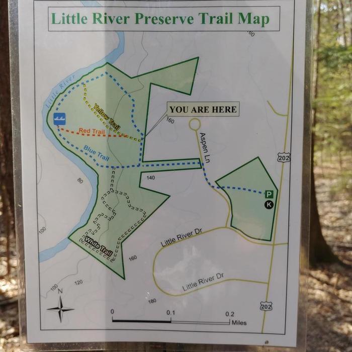 Trail map (Credit: Sylvia)