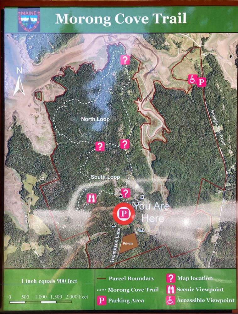 Trail Map (Credit: Manny Ormonde)