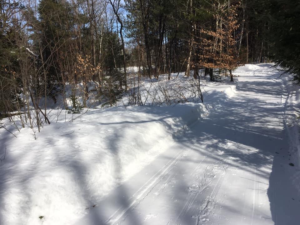 Groomed trail (Credit: Weston Woods & Waters)
