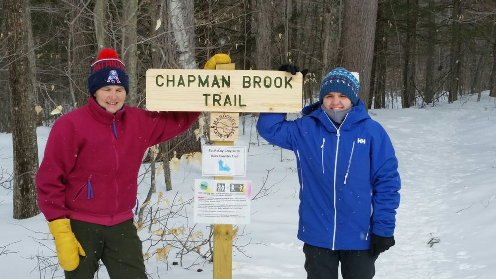 Chapman Brook Trail head (Credit: Scott McNary)