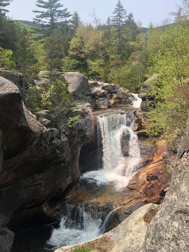 Grafton Notch State Park - Moose Cave, Mother Walker Falls, Screw Auger Falls