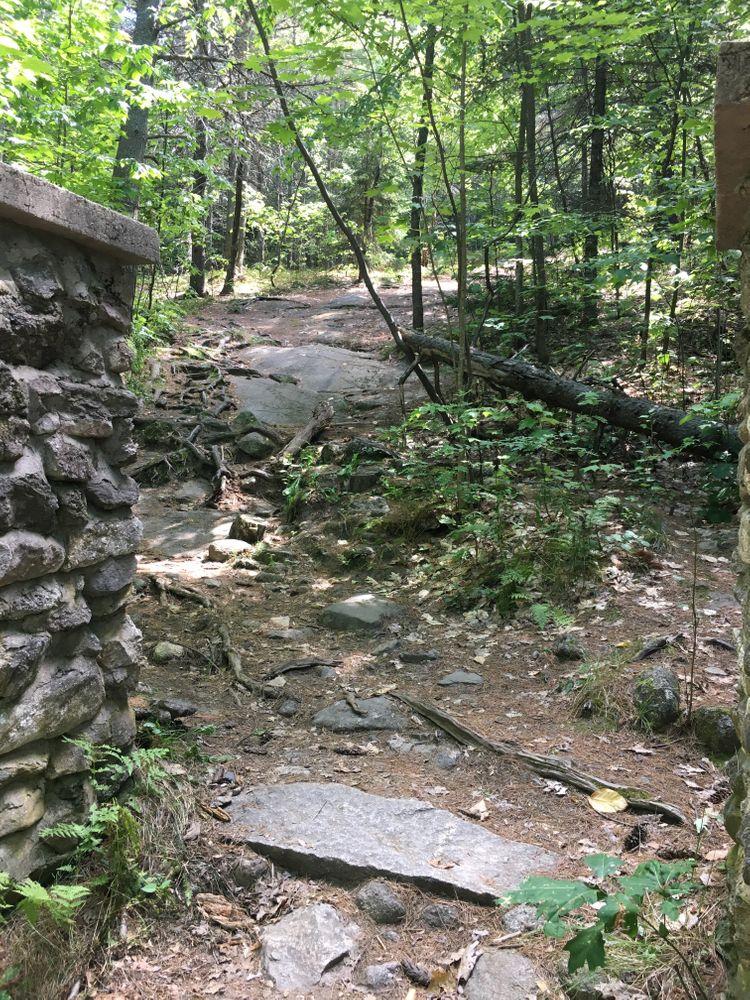 Ledges trail (Credit: Courtney Sargent)