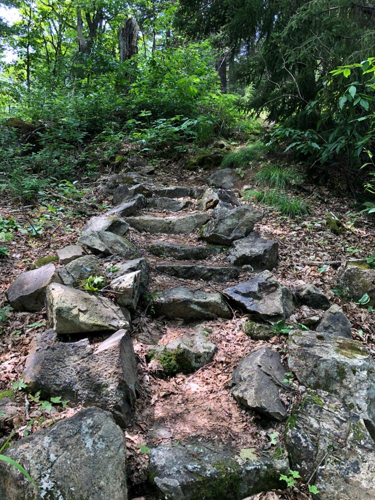 Rock Stairs (Credit: Lessard)