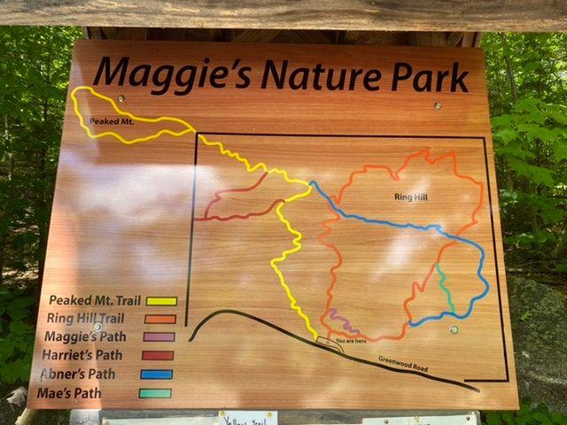 Map signage (Credit: Sara E)