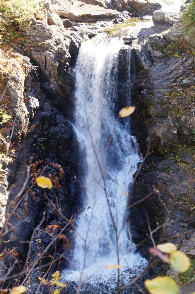 Close up of Moxie Falls (Credit: Jeanette Matlock)