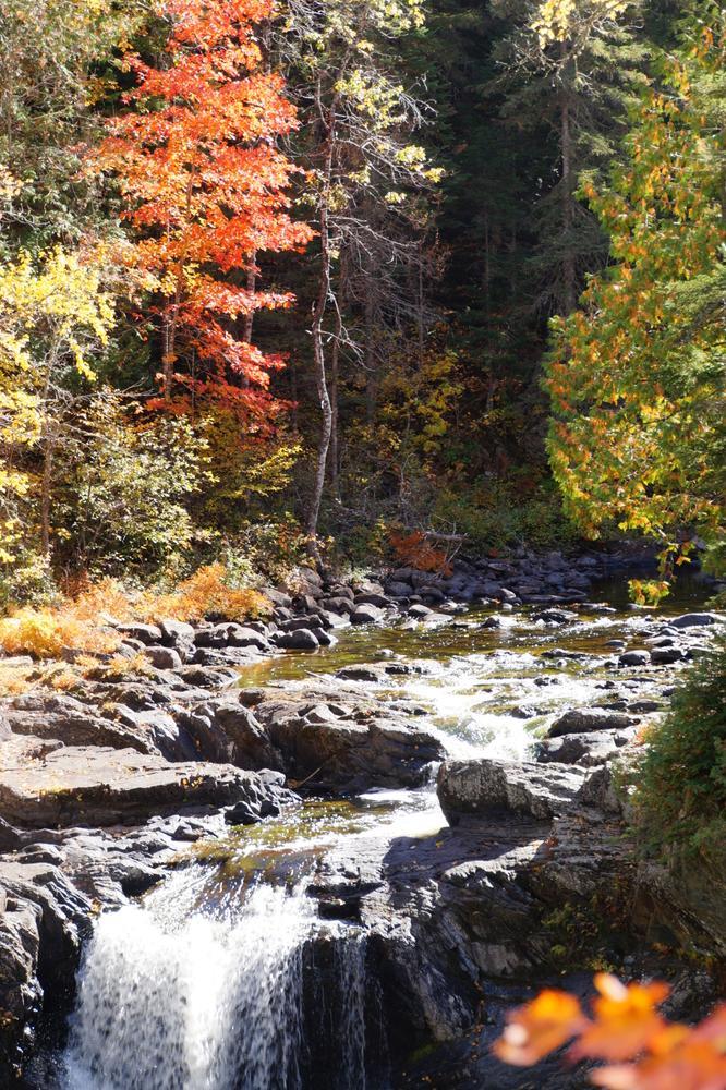 Upper pool into Moxie Falls - Fall 2014 (Credit: Jeanette Matlock)
